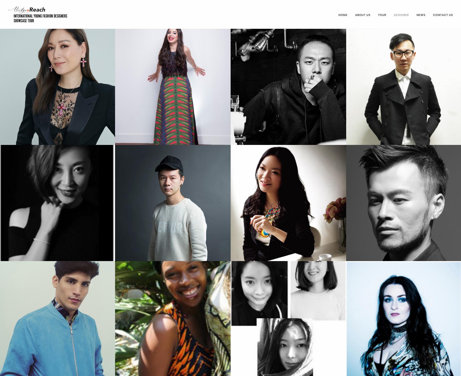 International Young Fashion Designers Showcase Tour Vizztech 域思科技